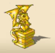Dragon Statue (Gold)