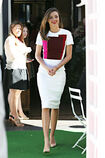 Miranda-kerr-white-victoria-beckham-dress-royal-albert-tea-launch-h724