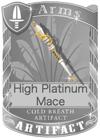 High Platinum Mace
