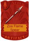 Zoa Flame Spear