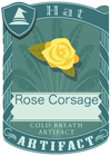 Rose Corsage Yellow
