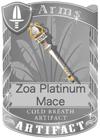 Zoa Platinum Mace