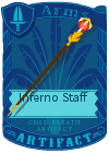 Inferno Staff