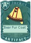 Bear fur coat yellow2