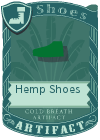 Hemp Shoes Green
