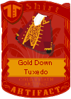 Gold Down Tuxedo (Red)