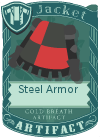 Steel Armor Black Red