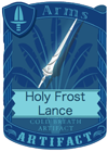 Holy Frost Lance