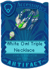 File:White Owl Triple Necklace.png