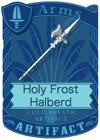 Holy Frost Halberd