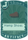 Hemp Shoes Grey