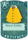 Wool kirtle yellow