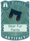 Bear Fur Pants Blue