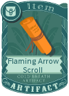 Flaming Arrow Scroll