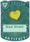 Steel Shield Yellow Green