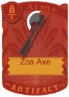 Zoa Axe