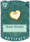 Steel Shield White
