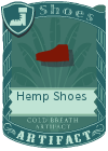 Hemp Shoes Red
