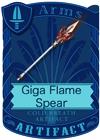 Giga Flame Spear