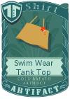 Swim Wear Tank Top Mint