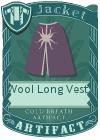 Wool Long Vest 4 Purple
