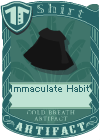 Immaculate Habit