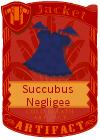 Succubus Negligee Blue Purple