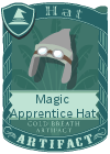 Magic Apprentice Hat Grey