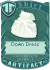 Down Dress