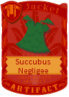 Succubus Negligee Green