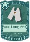 Wool Long Vest 1 Grey