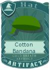 Cotton Bandana Green