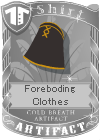 Foreboding Clothes Black