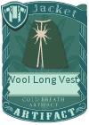 Wool Long Vest 4 Green