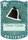 Down Cloak Black