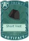 Short Vest Black