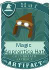Magic Apprentice Hat Brown