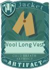 Wool Long Vest 1 Mint