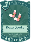 Rose Boots Pink
