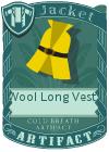 Wool Long Vest 2 Yellow