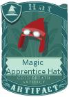 Magic Apprentice Hat Red