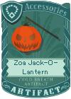 Zoa Jack-O-Lantern