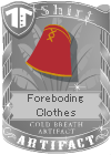 Foreboding Clothes Red