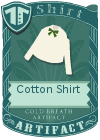 Cotton shirt bow green