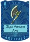 Giga Venom Axe