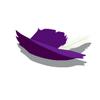 Purple Cavalier Hat