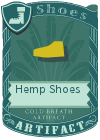 Hemp Shoes Yellow