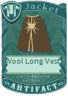 Wool Long Vest 4 Brown