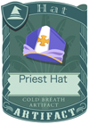 Priest Hat Purple