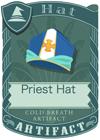 Priest Hat Blue